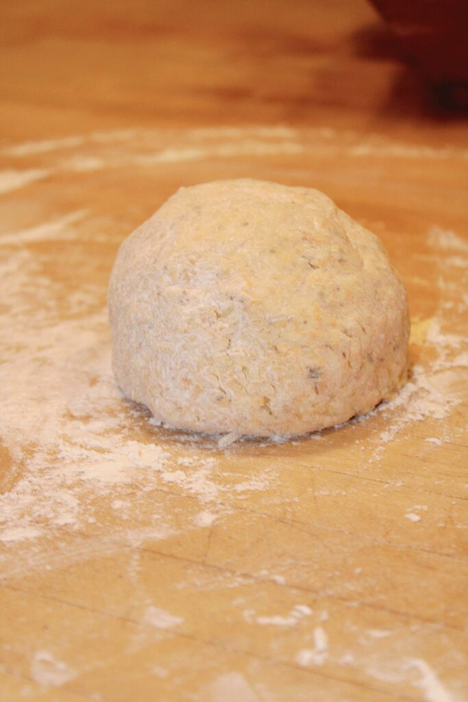 Parmesan and Cheddar Biscuits Dough