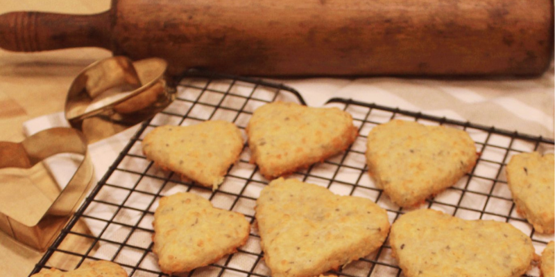 Parmesan and Cheddar Biscuits