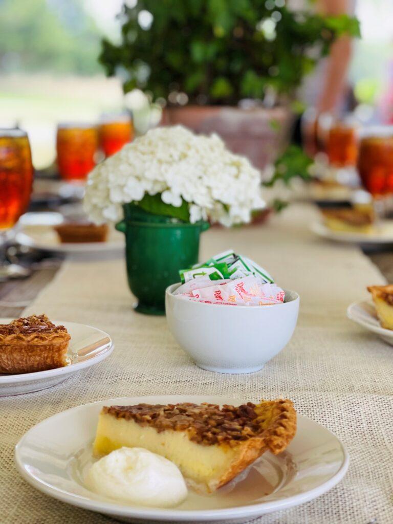 P Allen Smith Buttermilk Pecan Pie, a yummy ending to the home and garden tour
