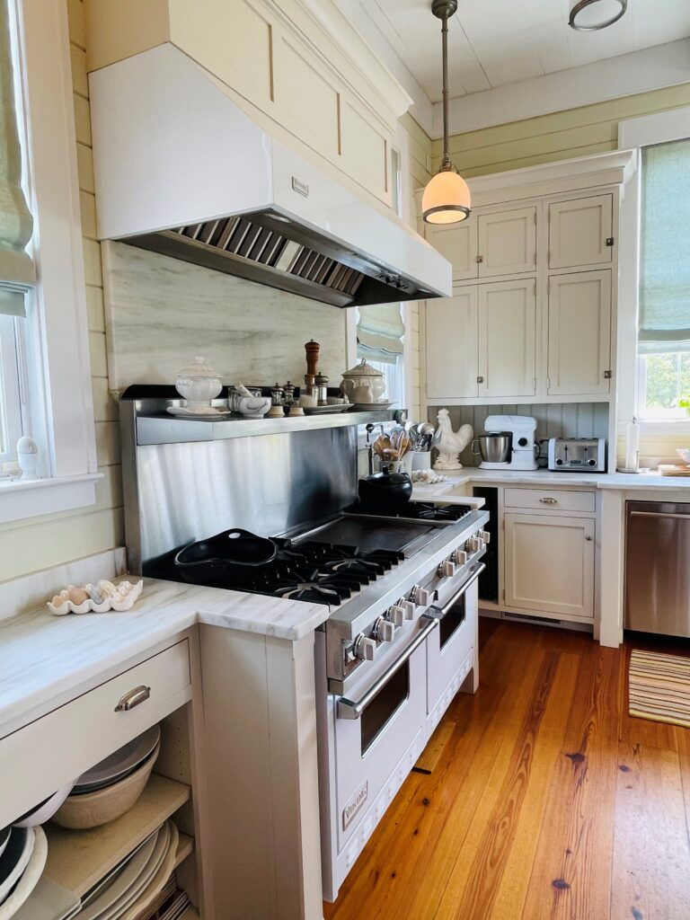 White Marble Counters and Kitchen Tour at the Home of P Allen Smith