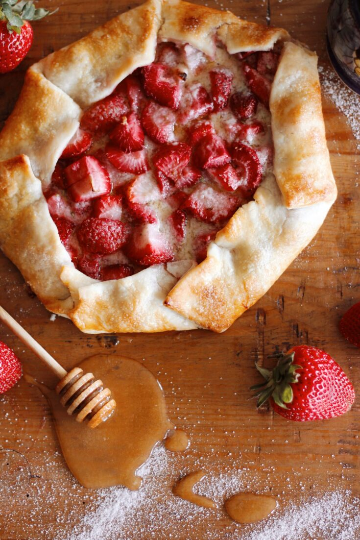Strawberry Galette-Let's Eat!
